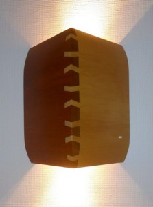 Vägglampa 1